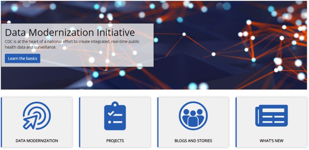 CDC Data Modernization Site
