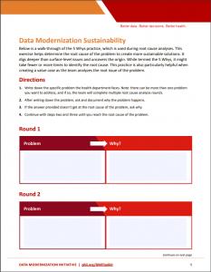 Root cause analysis worksheet