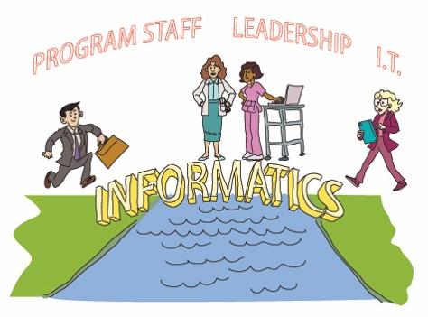 Informatics program staff, leadership and IT professionals